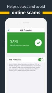Configure Web Protection in Norton Mobile