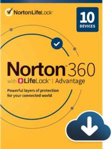 Norton 360 Lifelock advantage