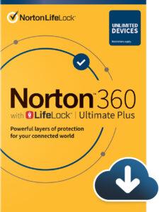 Norton 360 with Lifelock Ultimate Plus