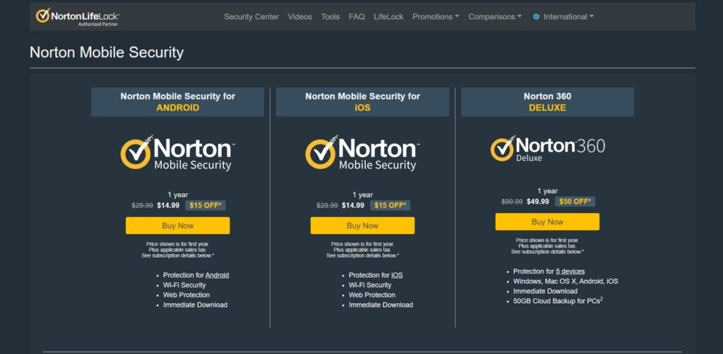 norton anti virus trials