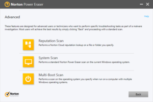 Norton rootkit scanner