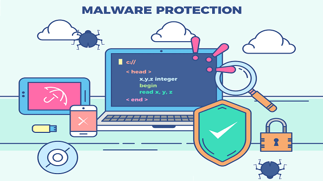 Norton Protects : Malware Protection
