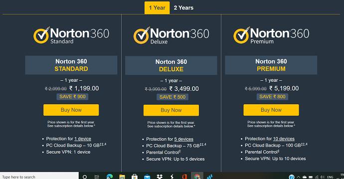Norton 360 on Mac