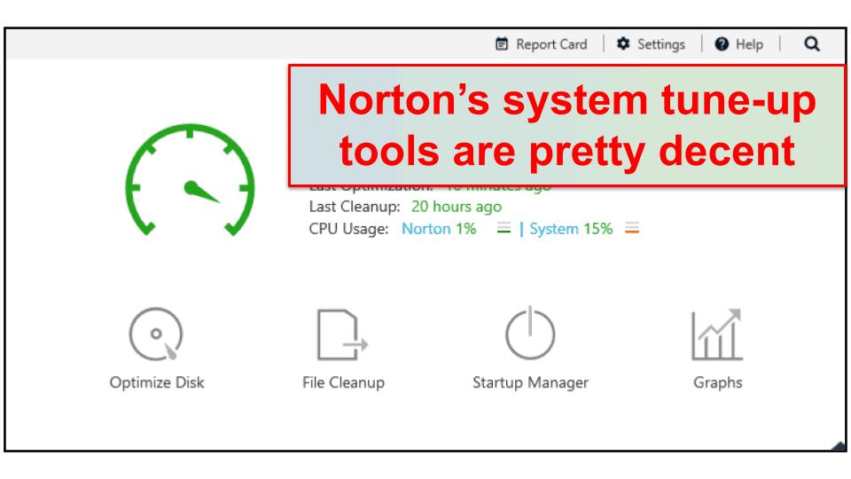 Norton PC TuneUP